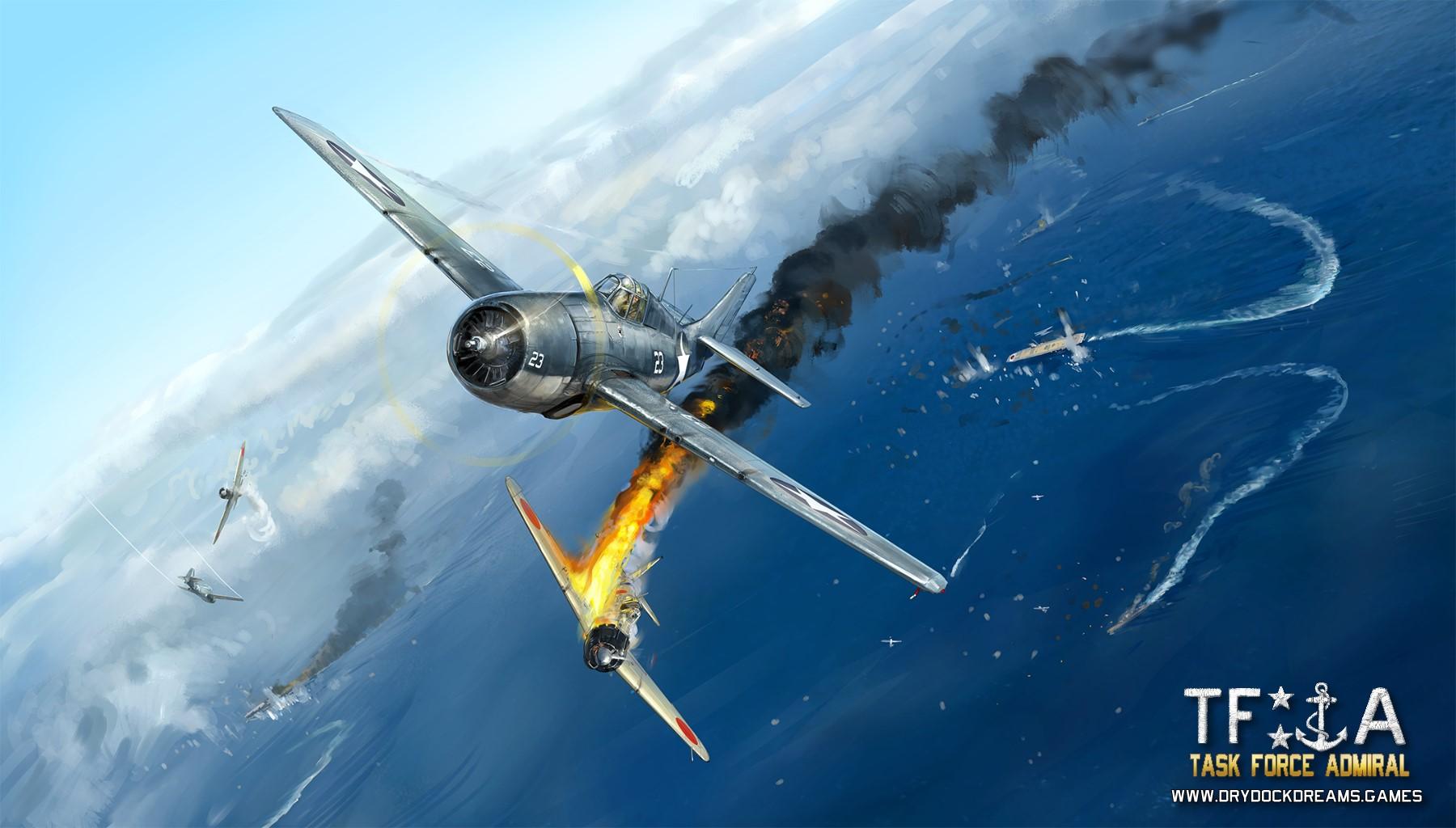 Artwork for Task Force Admiral Vol.1 : American Carrier Battles9