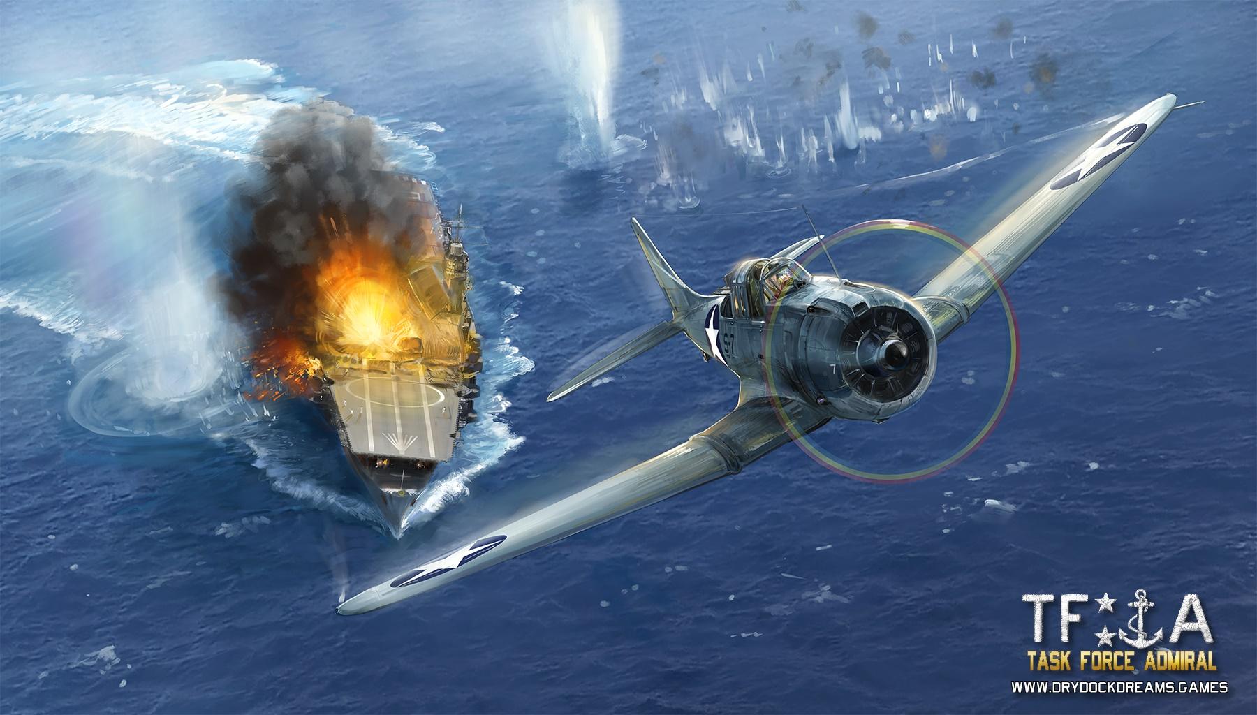 Artwork for Task Force Admiral Vol.1 : American Carrier Battles